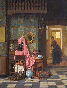 Opportunity Makes a Thief, 1875 by Charles Joseph Grips on Curiator, the world's biggest collaborative art collection.