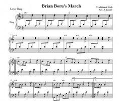 Brian Boru's March half page 1