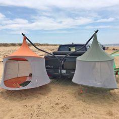 Trailer Hitch Hammock Chair Stand - Hammaka Truck Hitch Chair Truck Tent, Truck Camping, Camping Glamping, Camping Survival, Camping Hacks, Camping Stores, Cool Camping Gadgets, Camping Items, Camping Hammock