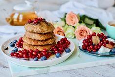 Baked-Buckwheat-Pancakes Pick Up Limes Vegan Vegan Foods, Healthy Foods To Eat, Healthy Cooking, Vegan Recipes, Snack Recipes, Cooking Recipes, Snacks, Vegan Ideas, Healthy Sweets