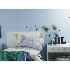 Xhilaration® Peacock Feathers Wall Decal