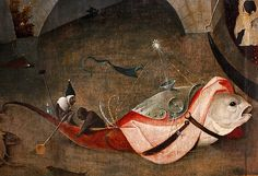 Hieronymus Bosch - his style is so frightfully modern, Temptations of Saint Anthony