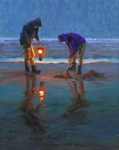 Pacific Beach Diggers, Mark Boyle... reminds me of clamming with my grandparents
