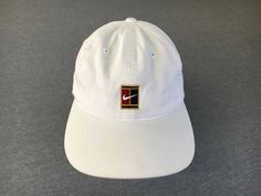 5a5ab6e3fda Nike Hat Supreme Court 90s Vintage Adjustable Tennis Challenge Sports Agassi  Cap