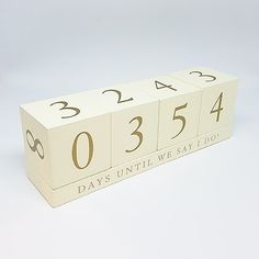 Wedding Countdown Looking for a perfect Engagement gift? The White Wooden Chalkboard Sign - Wedding Countdown Sign is a great gift for a newly engaged couple. Perfect Engagement Gifts, Engagement Gifts For Couples, Day Countdown, Wedding Countdown, Engagement Signs, Wedding Planning On A Budget, Wedding Day, Wedding Hacks, Chalkboard Signs