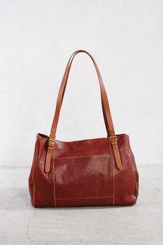 "Cognac Vintage Cowhide Shoulder Bag. Gold hardware. width x height x depth 41 x 29 x 17.5 cm 16.14"" x 11.41"" x 6.88"""