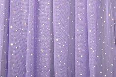 Glitter/Pattern Mesh (Lilac/Silver)