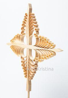 Ann-Kristina Al-Zalimi, tuomaanristi, finland, christmas, christmas tradition, perinne, käsityö, joulu, Saint Thomas cross