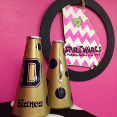 Dacula, Rec Cheer, 13 inch megaphones, Cheerleading, Megaphone Maven