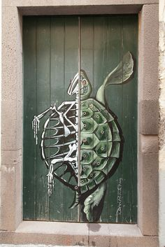 Rua de Santa Maria N. 75 by Dmitri Korobtsov, via Flickr    This street has some amazing doors!