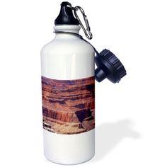 3dRose Grand Canyon Part 1, Sports Water Bottle, 21oz