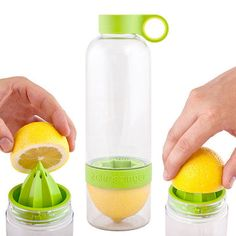 Zing Anything   Water Bottles That Infuse