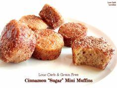 2- Cinnamon Sugar Mini Muffins - by Low Carb Lovelies (1)