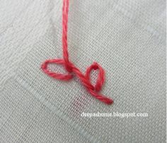 This and that...my random thoughts: Embroidery basics