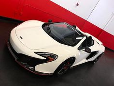 Instagram media by excell_auto - Love the spec on this 2016 white McLaren 650S Spider with carbon black interior #ExcellAuto • 📧 oleg@excellauto.com 📞5613395407 📩 DM 👥 Tag a friend! • #excellauto | #flraces | #carswithoutlimits | #itswhitenoise | #carsvideos | #boosted_cars | #florida | #palmbeach | #miami