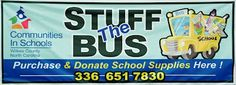 """Learn about what we collect during """"Stuff the Bus!"""""""