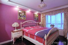 Pink simple European style kids room decoration 2016