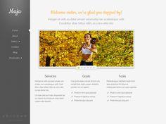 Maja WordPress Theme