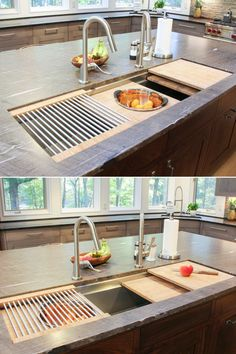 Roll-Up Sink Drying Rack | Pinterest | Water drip, Sinks and Countertop