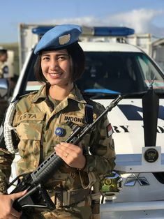 Military Women, Military Police, Military Fashion, Military Style, Girls Uniforms, Police Uniforms, Idf Women, Female Soldier, Beautiful Asian Girls