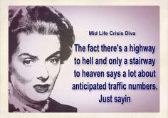 Midlife Crisis Diva on Facebook