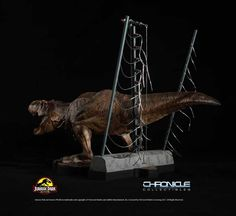 This exclusive and highly detailed scale statue features the female T-Rex as she roars in triumph after setting herself free from her pen as seen in the classic film Jurassic Park. Amblin Entertainment, Beautiful Film, Steven Spielberg, Tyrannosaurus, Classic Films, Jurassic Park, Universal Studios, T Rex, Action Figures
