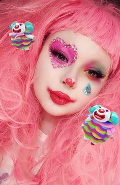 Edgy Makeup, Cute Makeup, Pretty Makeup, Makeup Inspo, Makeup Art, Makeup Inspiration, Gothic Makeup, Fairy Makeup, Crazy Makeup