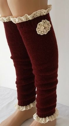 Leg warmers for the honeymoon suit  :o)