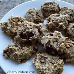 Chocolate Chip Cookies — Eleat Sports Nutrition, LLC paleo, gluten free, dairy free