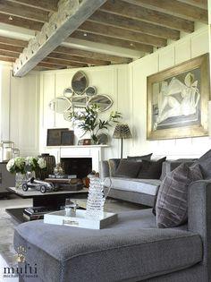 Interior design project : Riverside Apartment in Mortlake, London. Riverside Apartment, Casual Elegance, Smart Casual, Design Projects, Tapestry, London, Interior Design, Cool Stuff, Design Interiors