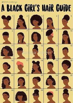 This black girl´s hair guide can be very useful. Lots of tips and information f… This black girl´s hair guide can be very useful. Lots of tips and information for beautiful African American hair. - Station Of Colored Hairs Natural Hair Inspiration, Natural Hair Tips, Natural Hair Journey, Natural Hair Regimen, Cornrows Natural Hair, Natural Hair Puff, Styling Natural Hair, Medium Natural Hair, Natural Beauty