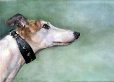 Dog Paintings, Fine Art ,Custom Pet Portraits,