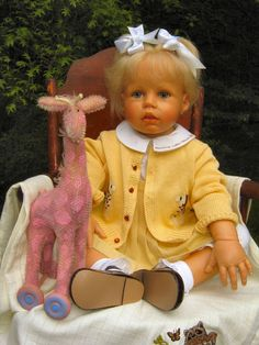 Bilderesultat for beautiful dolls pinterest hildegard gunzel