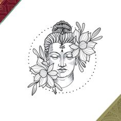 Artist likeforlike artwork fashiondesigner fashiondesign fashion new pencils color portraitart painting copicmarker copicart artist scetch Buddha Tattoo Design, Buddha Tattoos, Hindu Tattoos, Buddha Drawing, Buddha Painting, Nature Tattoos, Body Art Tattoos, Small Tattoos, Buddha Kunst