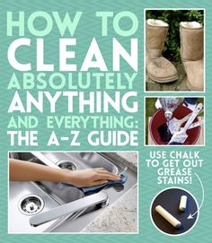 Cleaning-Tips-How-To-Clean-Anything-And-Everything