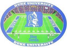 Duke Blue Devils Set of 4 Placemats