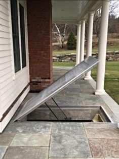 11 best trap door on deck for basement access images basement rh pinterest com