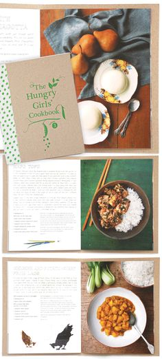 this looks like a fun book // The Hungry Girls Cookbook