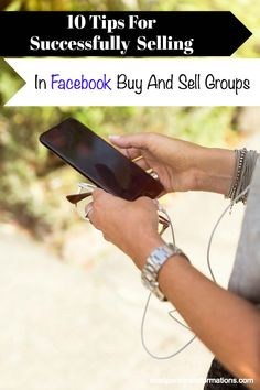 10 tips for selling in Facebook Buy and Sell groups. I decided to try facebook buy and sell groups after my friend made $300 in just one month.