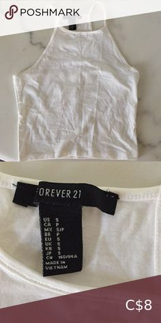 Forever 21 white tank (S) No stains, great condition Forever 21 Tops Tank Tops Crop Tops, Tank Tops, White Tank, Top Colour, Forever 21, 21st, Stains, Product Description, Best Deals
