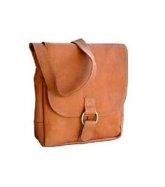 Waterfront Leather Messenger Bag