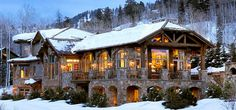 Lake Tahoe - 20 Perfect Homes We'd Love to Spend a Snow Day Inside  - HouseBeautiful.com