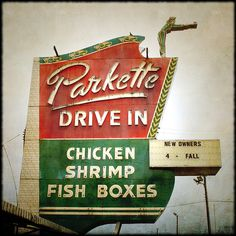 A Lexington landmark, the Parkette Drive In was recently refurbished and featured on the hit Food Network Show, Diners Drive Ins and Dives!