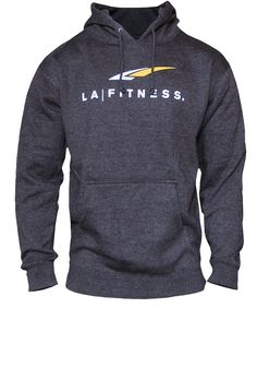 PREMIUM LOGO HOODIE A hoodie that actually fits right. Cotton/poly blend.