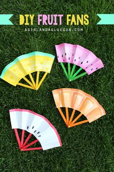 This posted over at the Idea room a few weeks ago!  I've whipped together a super fun fan to keep you cool during the hot summer months AND it's a great kids craft that they will have a blast with! I found these Popsicle sticks at the dollar store…already colored in. But you could totally …