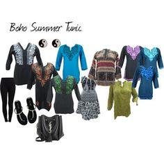 boho chic: Indi Street Style Summer Tunics, Summer Dresses, Miss Kg, Stylish Dresses, Casual Wear, Boho Chic, Tunic Tops, Street Style, Clothes For Women