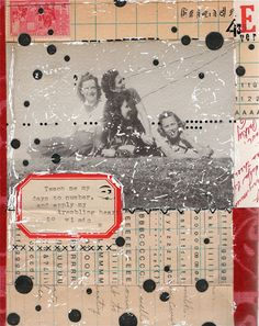 UPPERCASE - journal - Collage by Kariann Burleson