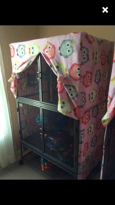 Double critter/ ferret nation cage cover ** message to order by ChinsAndMore on Etsy https://www.etsy.com/listing/265258518/double-critter-ferret-nation-cage-cover