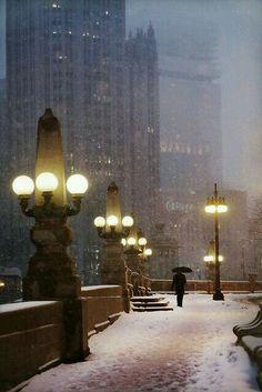 Chicago's winter
