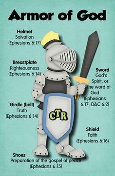 Armor of God 4x6 printable